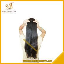 Unprocessed Natural Remy Virgin Straight Vietnamese Machine Weft Hair Extension 16 inch