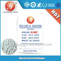 msds titanium dioxide rutile R992 for masterbatch