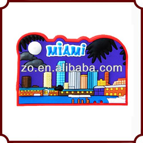 Promotional Cheap Soft PVC Rubber Fridge Magnets