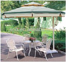 dia 2.5m aluminium side pole garden umbrella