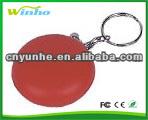 PU foam red bleed stress keyring/keychain