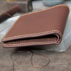 Guangzhou factory leather wallets for men