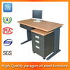 high quality modern furniture iron cheap glass office computer desk