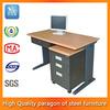 high quality modern furniture iron cheap glass office computer desk