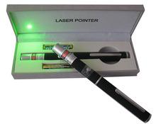 High Powered Portable 15mW Green Laser Light AAA Pen Travel Box