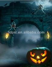 High definition wracky 3d pumpkin light picture