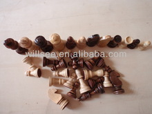 1014.Good quality wooden chess piece