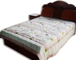 comforter and bedding set striped fabric