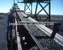 Belt weigher conveyor belt weigh system