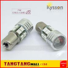 12V 24V white amber yellow red blue 1156 1157 3156 3157 7440 7443 30W turn signal brake stop light bulb 7W cree smd led