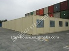 light steel structure walking floor container