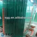 alta qualidade de vidro float de cor painéis de tamanhos padrão