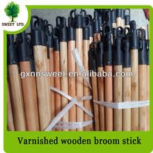 Round Wood Poles with Plastic Cap