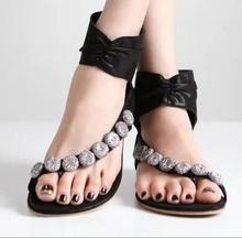 2014 Pretty Steps women ladies beach beads fashion slipper