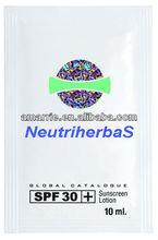 Best quality spf 60 moisturizing rose whitening sunblock for face