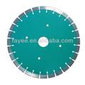 circular de diamante de cristal pulido azulejos hoja de sierra de soldadura del segmento