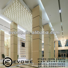 Coffee house PETG indoor partition decoration material