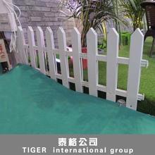 factory wholesale plastic edge fence green plastic lattice fence