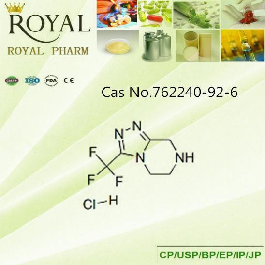 3-( trifluoromethyl)- 5,6,7,8- tetrahydro- 1,2,4triazolo4,3pyrazineไฮโดรคลอไร762240-92-6
