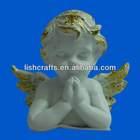 Resin praying angel souvenir