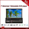 7 inch motorized retractable DVD player RDS DAB bluetooth RCA USD SD AUX MP3 touch screen renault megane 3 car dvd