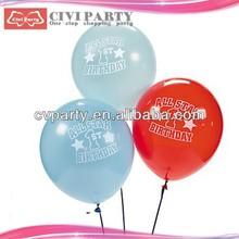 round ballon,birthday baloon,party balloon red white wedding balloon decorations