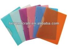 buena calidad a4 pp columpio de plástico clips de la carpeta de presentación de informes