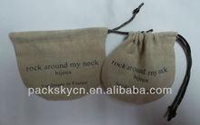 Cheap Jute Jewelry Pouch Jute Bag Wholesale