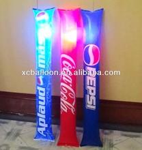 light up LED noise maker cheering bangbang thunder stick