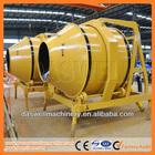 JZR350 diesel concrete mixer with pump
