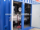 Container Type Biogas Energy Generator With CHP System (More Than 80 Efficiency) 1MW gas power plant
