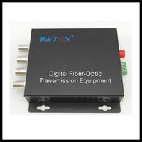 Single-Mode 40KM 4-channel video transmitter&receiver