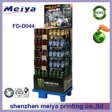 cardboard beer /can bottle display shelf,recycle cardboard perfume bottle display case