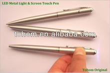 Cheap promotional metal laser light pen /led torch light pen