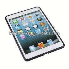 Bumper for ipad mini case Crystal Case Cover For ipad Mini,PC+TPU Transparent Case For ipad mini