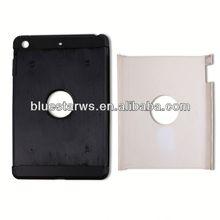 For ipad accessory Crystal Case Cover For ipad Mini,PC+TPU Transparent Case For ipad mini