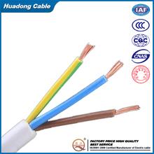 0.5mm CU/PVC insulation/PVC sheath RVV cable