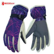 Waterproof Men Thermal Motorcycle Snow Bicycle Skiing Gloves