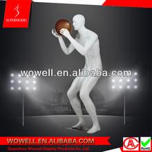 high quality fiberglass basketball mannequin