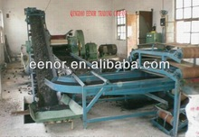 Scrap tyre cutter machine for tyre recycling