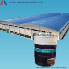 Nano metal materials heat insulation roof coating
