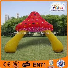 Advertising giant decoration inflatable mushroom model arch dawdle