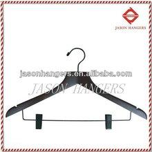 CU9025N Black wooden dress hangers