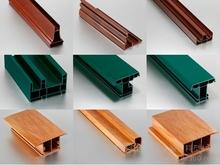 wood/color 60/80/88 door panel plastic/pvc extrusion window and door profile