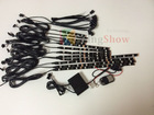 New Two channel MILLION COLOR LED ACCENT LIGHTS SUZUKI MOTORCYCLE ENIGNE LIGHT KIT