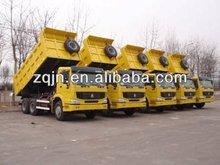 Venta caliente china camión volquete sinotruk howo/isuzu camiones de volteo