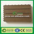 Bois plastique Composite bricolage Patio plancher