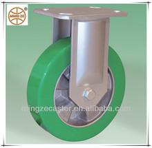 elastic PU on aluminium core heavy duty caster and wheel