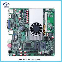 Mini-ITX 12V Mini PC Motherboard with Intel Celeron 1037U