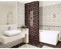 Diseño de la rejilla de cerámica azulejos de la pared de color marrón cuarto de baño& cocina azulejo de la pared